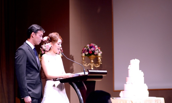 Speech by Couple @ Capella
